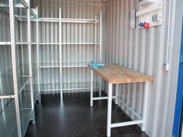 Lagercontainer mieten